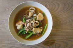 Tailandês - alimento chinês: Fotografia de Stock Royalty Free