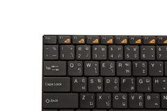 TAILANDÊS - teclado INGLÊS imagem de stock