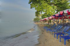 Tailand.Pattayya.Dzhomten. Royalty Free Stock Image