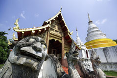 Tailandia, Chiang Mai, Phra Singha fotos de archivo