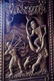 Tailandia 6 de agosto de 2017, en adentro un templo en Udon Thani Esculturas, p Imagenes de archivo