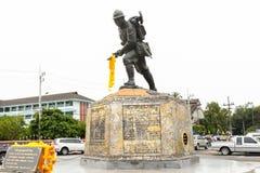 Tailandia - 10 de enero: monumento de la guerra del Pacífico (mayor asi del este Fotos de archivo