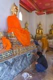 Tailandia - Dhyana Buda - decorador imagenes de archivo