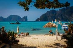 Tailandia, islas de Phi Phi imagen de archivo