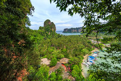 Tailandia, Krabi Centro turístico de lujo Imagen de archivo libre de regalías