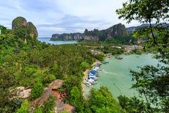 Tailandia, Krabi Centro turístico de lujo Fotografía de archivo libre de regalías