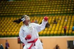 Tailandia Open Karate-hace el campeonato 2013 Fotografía de archivo libre de regalías
