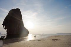 Tailandia - playa de Phra Nang Foto de archivo libre de regalías