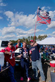 Tailgate party Stock Image