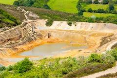 Tailings Dam Royalty Free Stock Image