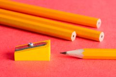 Taille-crayons Photos stock