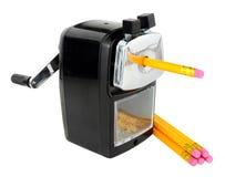 Taille-crayons de bureau Image stock