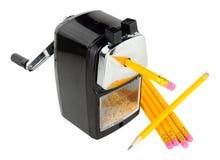 Taille-crayons de bureau Images stock