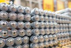 Taille D.C.A. aa de piles électriques Photo stock