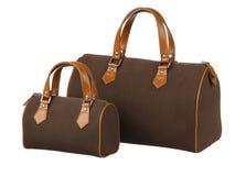 Taille deux des sacs à main Photographie stock libre de droits