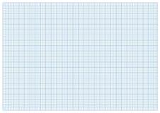 Taille du papier a3 de millimètre de vecteur Images libres de droits