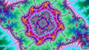 Taille très grande colorée abstraite étonnante de haute résolution de fractale de fond d'univers de Digital illustration libre de droits