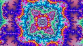 Taille très grande colorée abstraite étonnante de haute résolution de fractale de fond d'univers de Digital illustration stock