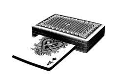 Taille van kaarten Royalty-vrije Stock Afbeeldingen