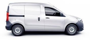 Tailles d'échelle de fourgon de dokker de Dacia, prêtes à concevoir, dimensions de voiture, véhicule s'enveloppant, sur la public illustration libre de droits