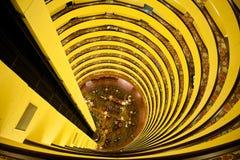 Tailles vertigineuses, spirales d'hôtel Images libres de droits
