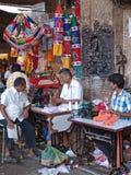 Tailleur à Madurai, Tamil Nadu, Inde Images libres de droits