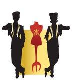 Tailleur de SÉRIE du TRAVAIL, couturière Image libre de droits