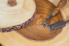 Tailleur en bois Image libre de droits