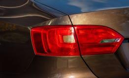 Taillight на автомобиле Стоковая Фотография RF