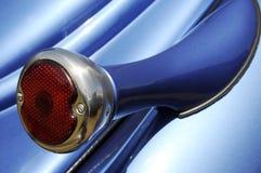 taillight сини автомобиля Стоковое Фото