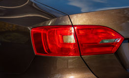 Taillight on a car. Royalty Free Stock Photography