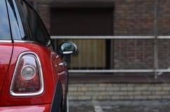 taillight czerwony samochód obraz stock