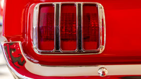 Taillight Ford mustang obrazy royalty free