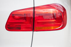 A taillight on a modern car Royalty Free Stock Image