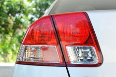 Taillight on modern car. Closeup of taillight on modern car Royalty Free Stock Photography