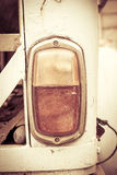 Taillight of old car, vintage Royalty Free Stock Photography
