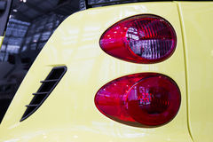 Taillight stock photo