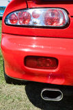 Taillights Foto de Stock Royalty Free