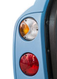 Taillights samochody z otwarte drzwi zdjęcie stock
