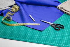 Tailor accessories kit Royalty Free Stock Image