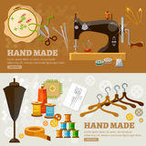 Tailor banners Royalty Free Stock Images