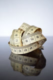 Tailor centimeter tape Royalty Free Stock Image