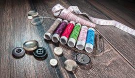 Tailor - dressmaker tools Stock Photos