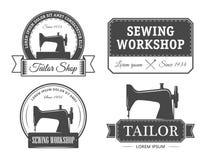 Tailor emblems Stock Image
