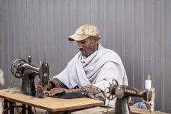 Tailor in Ethiopia Stock Images