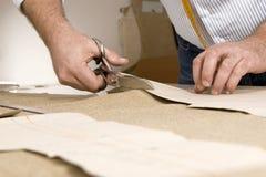 tailor för sax för detaljhand s royaltyfria bilder