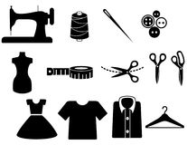 Tailor icon royalty free stock photography