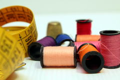 A tailor kit Stock Image
