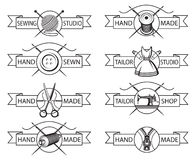 Tailor labels Stock Images