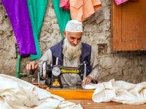 Tailor in Leh Stock Photos